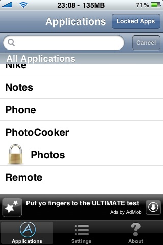 Iphone3gslockdown